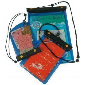 Reinforced waterproof pouch...