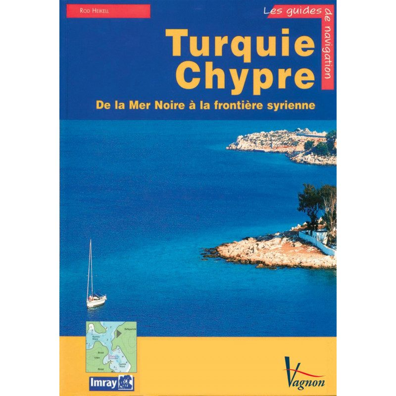 Guide Imray : Turquie & Chypre | Picksea