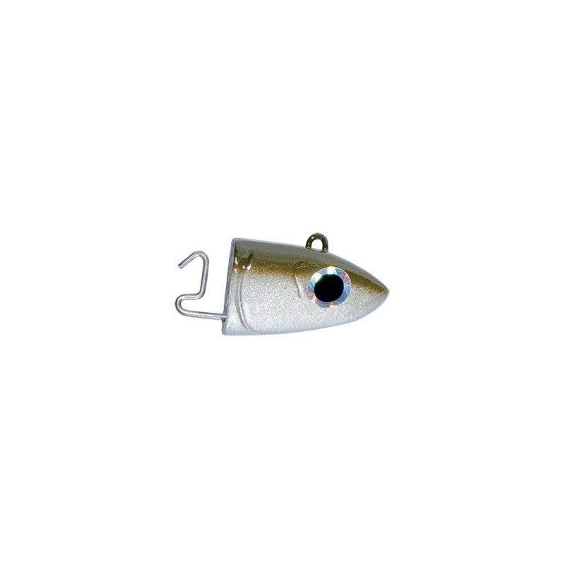 Black Minnow Kaki Offshore Heads (x2) | Picksea