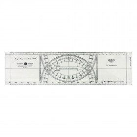 Jean Cras ruler plexi 3 mm