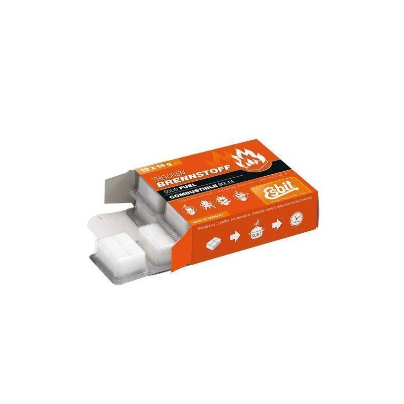 Tablettes de combustible 12 x 14 g | Picksea
