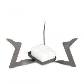Titanium folding stove