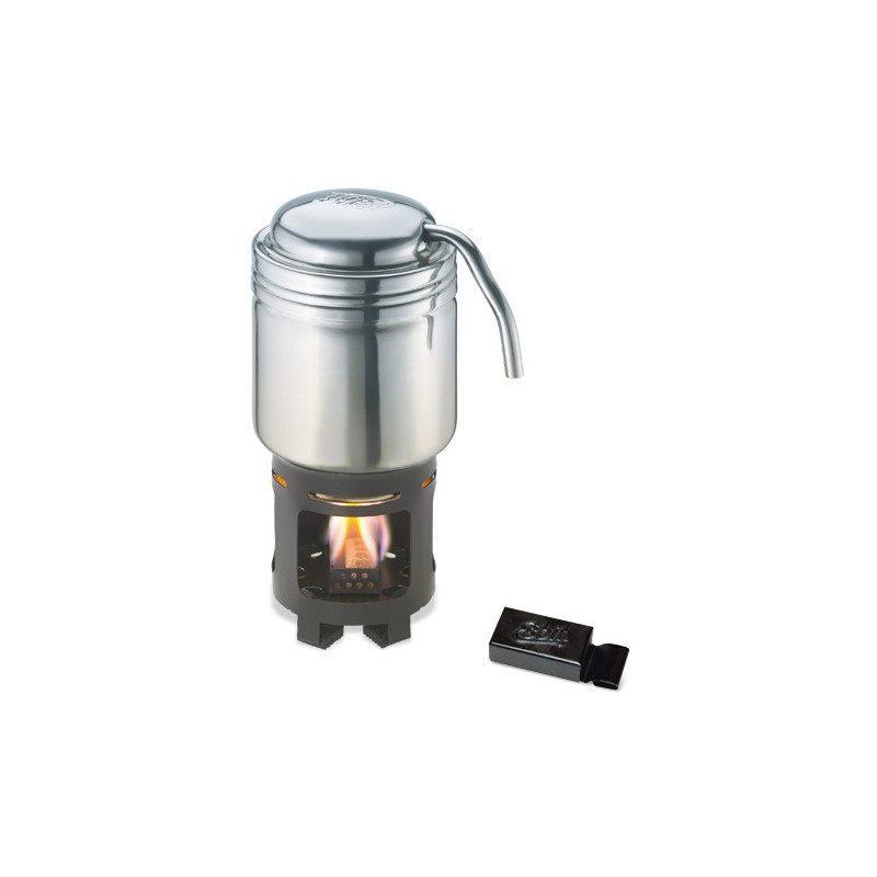 Coffee machine with burner | Picksea