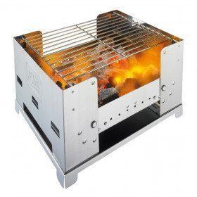 Barbecue inox pliable grand...