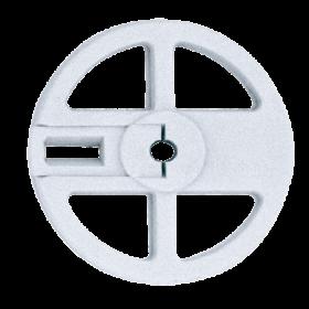 Pair of anti-drag wheels