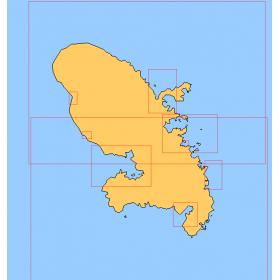 Nautical Charts Martinique