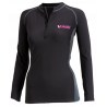 Top V-Cold manches longues Hydro Fleece Femme | Picksea