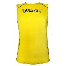 Sleeveless V-heat top