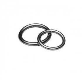Round stainless steel ring