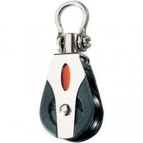 Single swivel pulley...