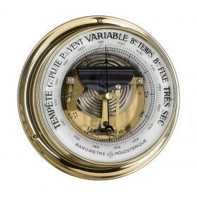 Skeleton needle barometer...