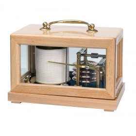 Compact barometer recorder
