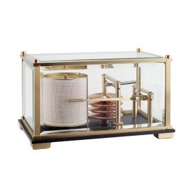 Compact barometer recorder...