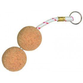 Maxi floating cork key ring