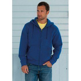 Sweat-shirt zippé à capuche
