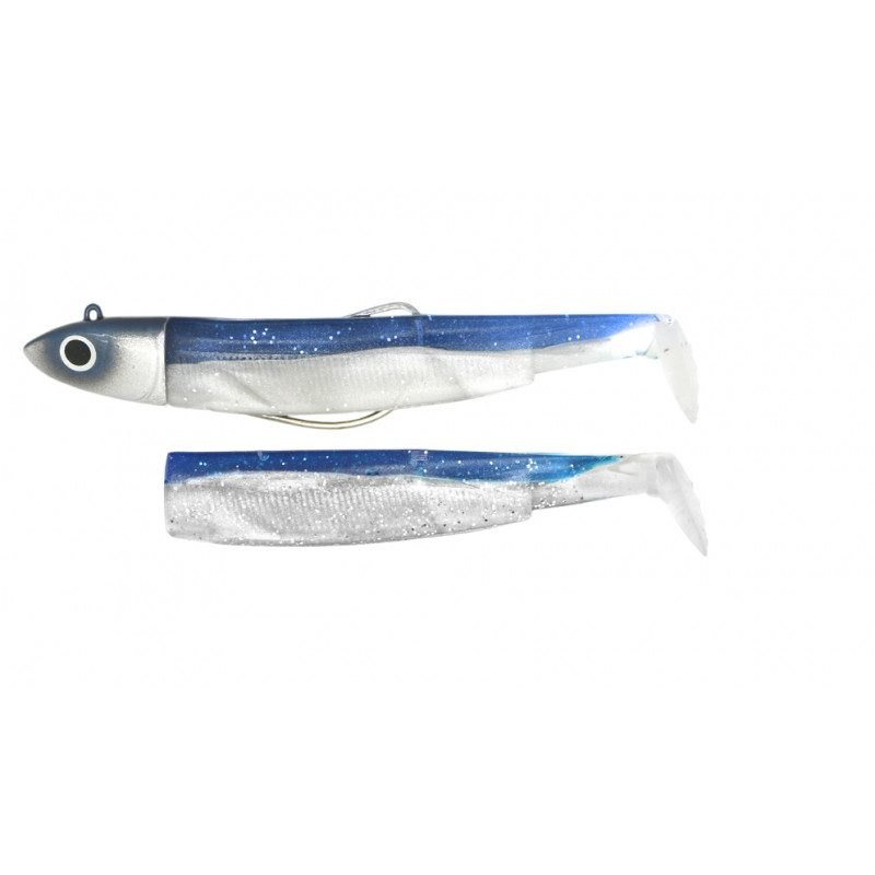 Combo Black Minnow 140 Bleu Off Shore 40g   Picksea