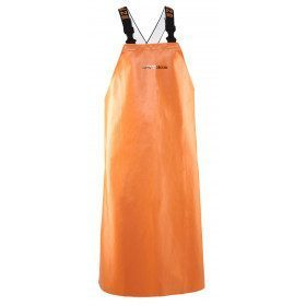 Brigg thick apron with straps