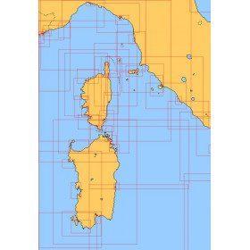 Mediterranean nautical charts