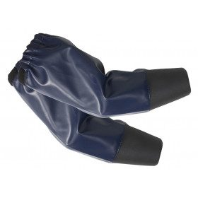 Cuffs with neoprene sleeves...