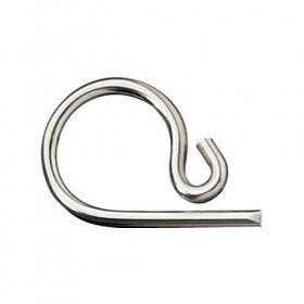 Stainless steel retaining clip