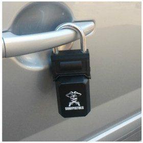Code Safe Key Padlock