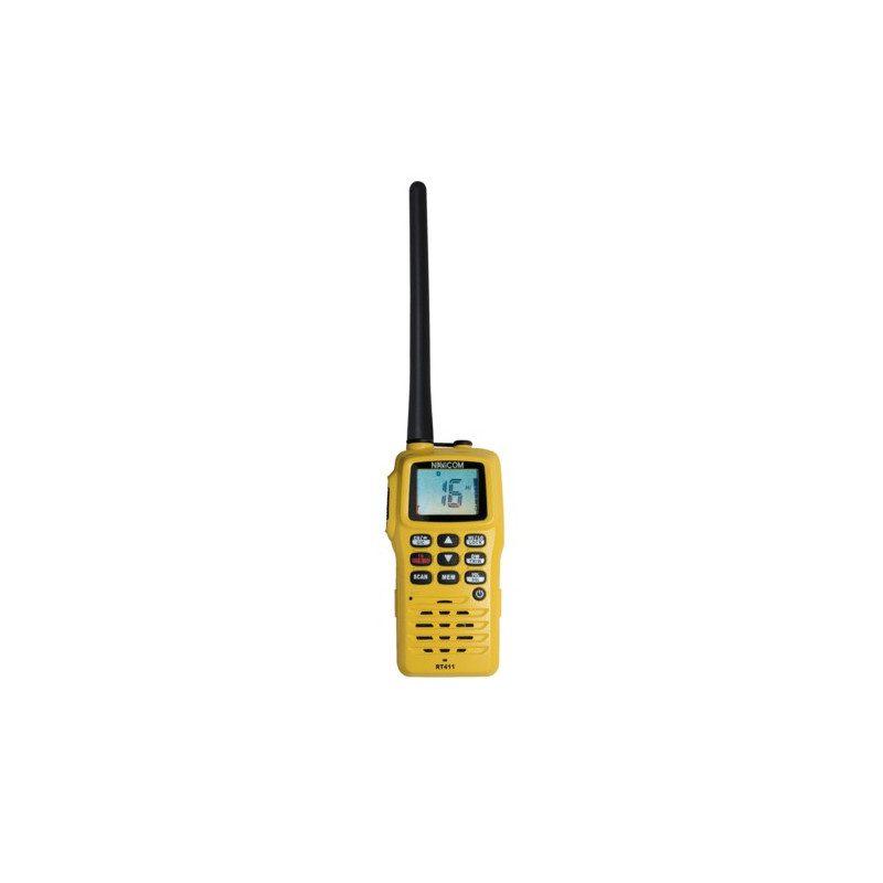 VHF Portable RT411 étanche et flottante de Navicom | Picksea