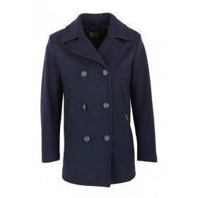 Cap-Sizun wool coat