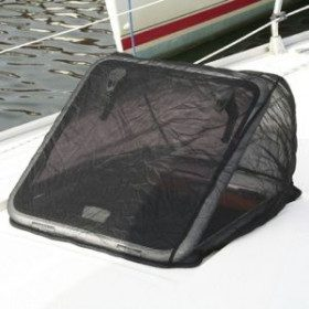 Mosquito net for deck hatch...