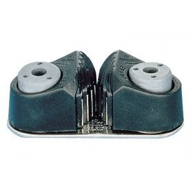 Wedge cleat for 8 mm rope