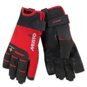Short fingers gloves...