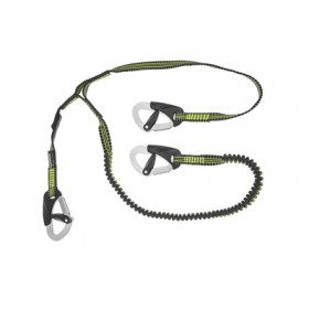Lanyard with 3 carabiners