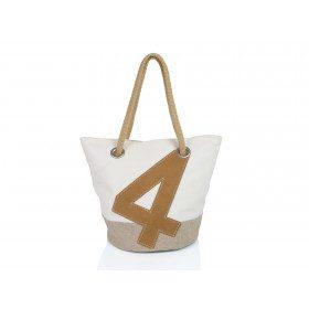 Sandy handbag linen and...
