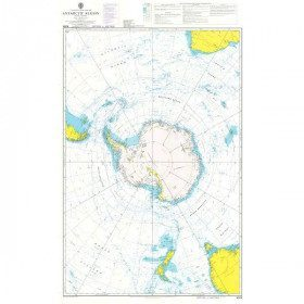 Carte Marine 4009 Region...