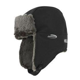 Warm chapka with fur