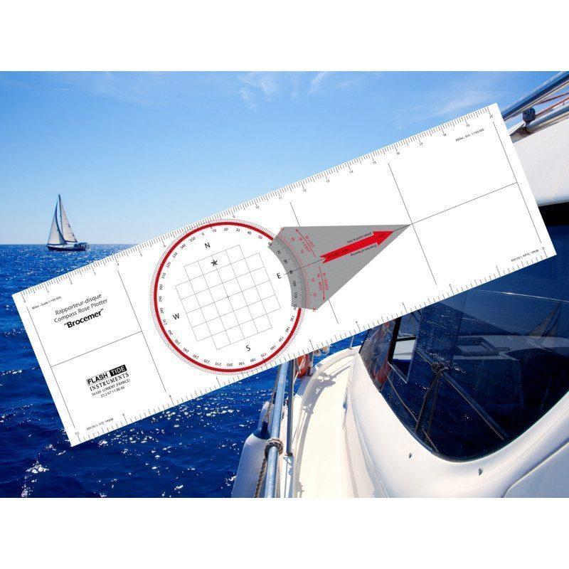 Règle Rapporteur de Navigation Brocémer | Picksea