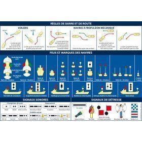 Code marin adhésif A5...