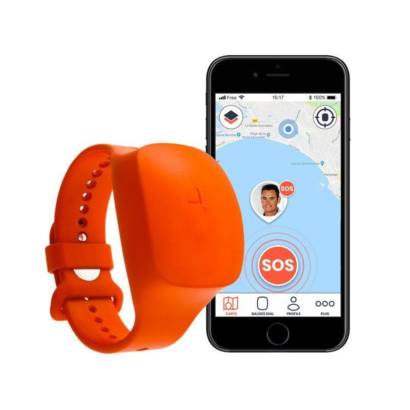 Bracelet DIAL SNSM   Dispositif d'alerte et de localisation