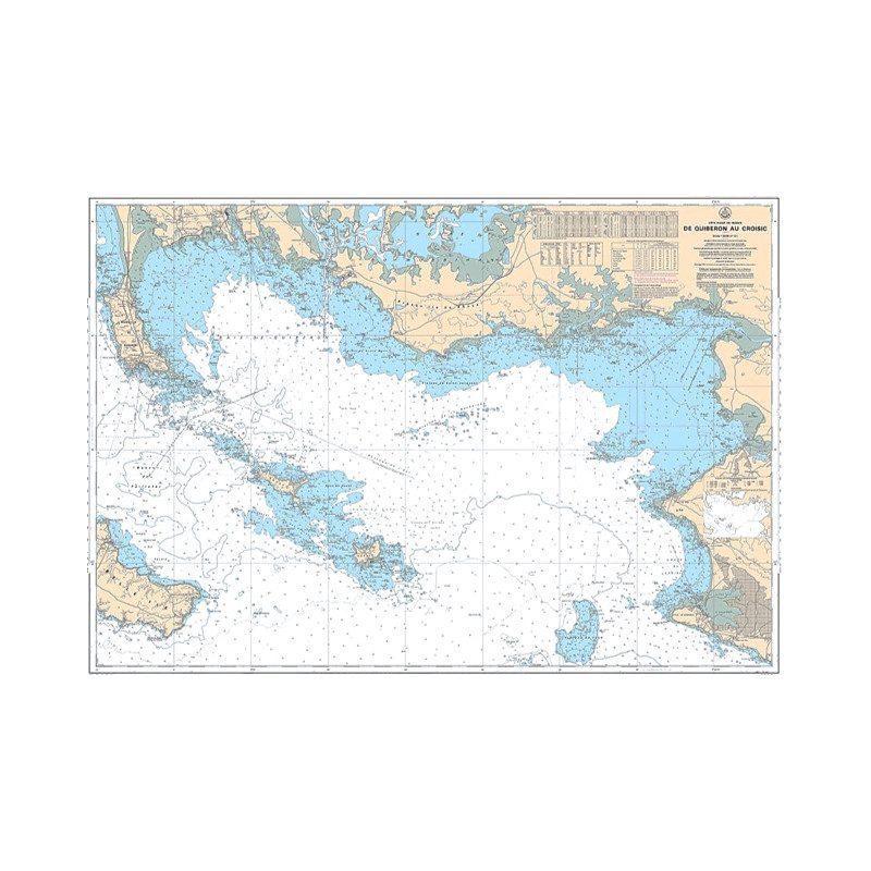 Carte marine 9999 du SHOM   Examen Permis Hauturier