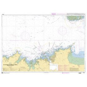 Carte Marine 7155 : du Cap...