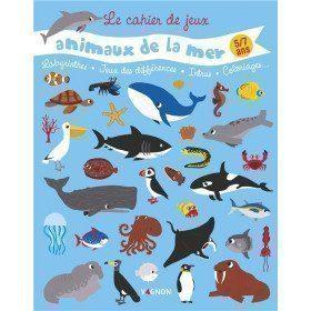 Cahier de Jeux Les Animaux...