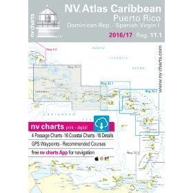 NV-Charts - Zone Caraïbes...