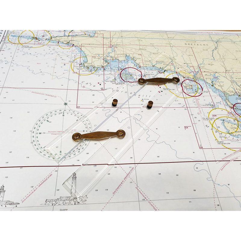 Règle parallèle pour la navigation | Picksea