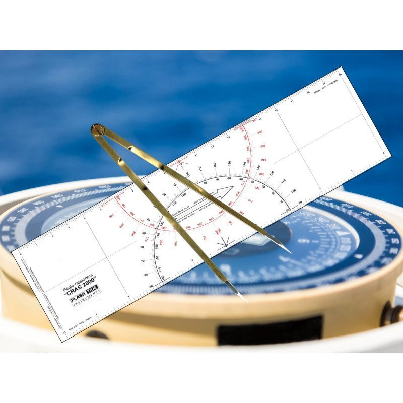 Kit Règle Cras et Compas pointe sèche | Picksea