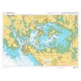 Carte Marine à plat  7137 :...