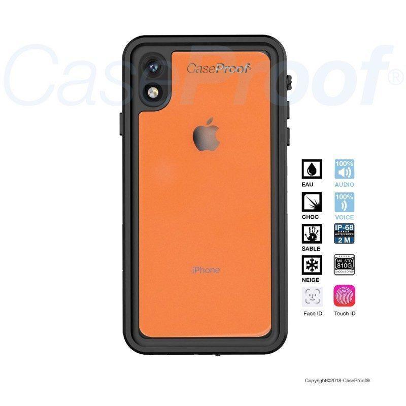 Coque Iphone Xr étanche et antichoc de Caseproof   Picksea