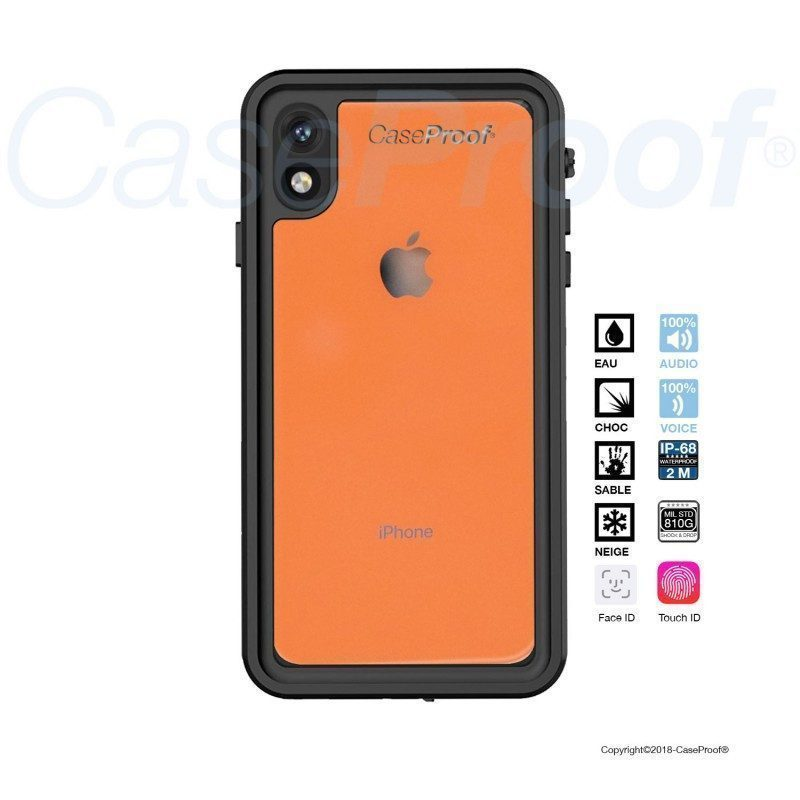 Iphone Xr waterproof and shockproof case from Caseproof   Picksea