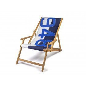 Two Tone Oak Lounger