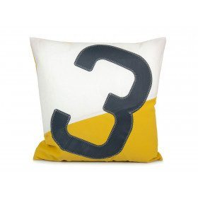 Two-coloured cushion 50x50cm