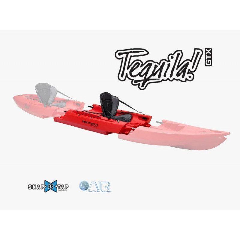Section supplémentaire pour kayak modulable Tequila GTX de Point 65   Picksea