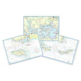Waterproof nautical charts...